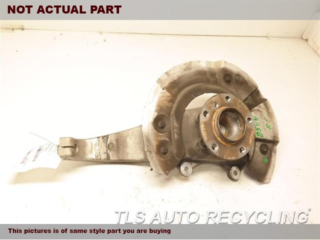 2012 BMW 550I Spindle Knuckle, Fr. 31216775770  31206850158  PASSENGER FRONT KNUCKLE W/HUB