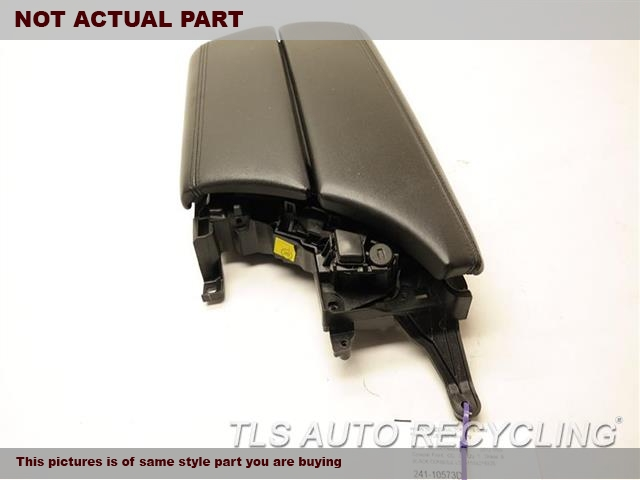 2012 BMW 535I Console front and Rear. BRN,LEA,LID
