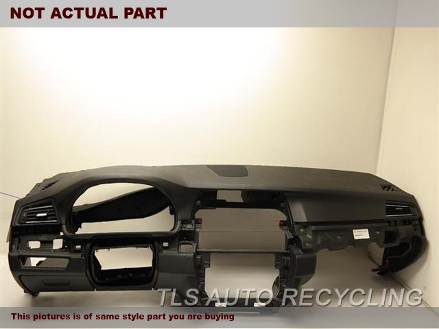2012 BMW 550I Dash board. BLACK DASH PANEL 51459207406