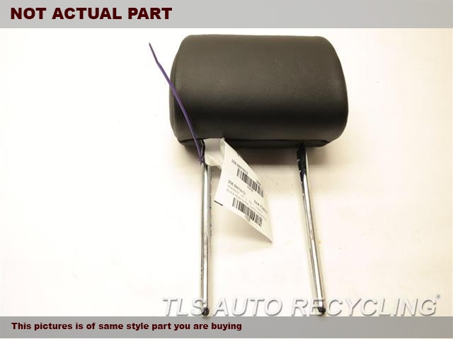 2012 BMW 550I Headrest. 52207260342	BLACK REAR CENTER LEATHER HEADREST