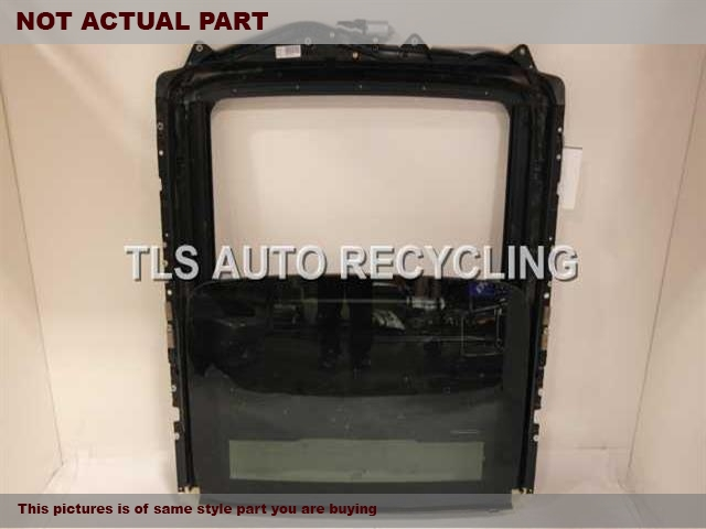 2012 BMW 550I Roof Assembly. 54107209283 67617316535 54107256112SUNROOF ASSEMBLY TRACK, MOTOR, GLASS