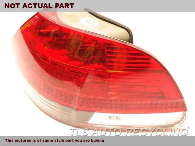 2008 BMW 750I Tail Lamp. RH,QUARTER PANEL MOUNTED, (CLEAR LE
