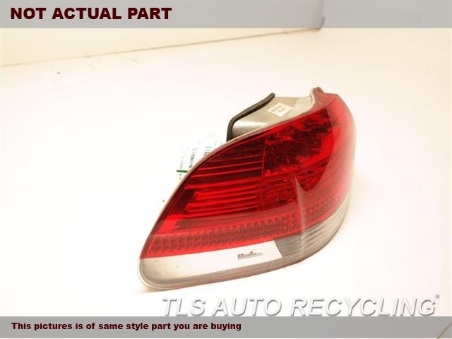 2008 BMW 750I Tail Lamp. LH,QUARTER PANEL MOUNTED, (CLEAR LE