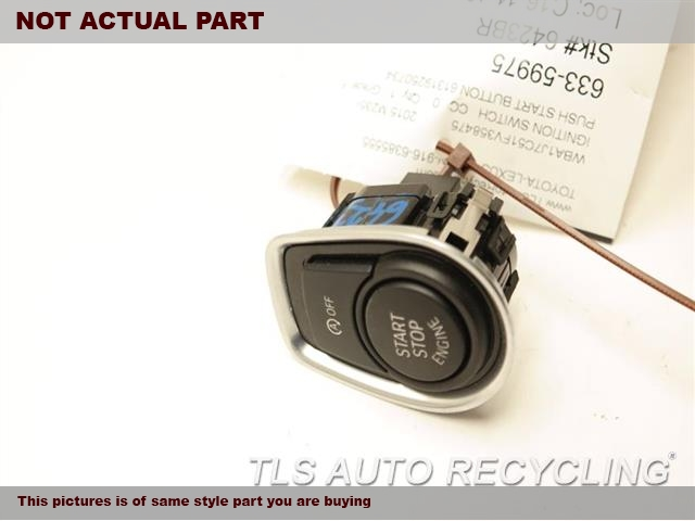2016 BMW 228I Ignition Switch. PUSH START BUTTON 61319250734