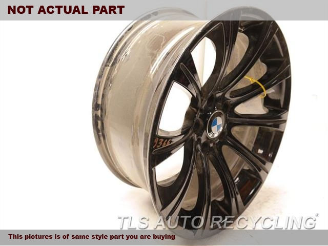 2008 Bmw M5 Wheel REPAINTED ON BLACK COLOR, PAINT PEELING 19X9-1/2 ALLOY WHEEL