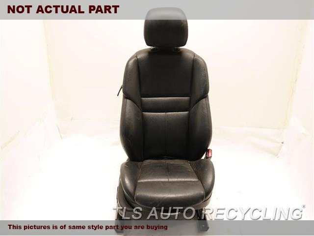2007 BMW M6 Seat, Front. RH,BLK,LEA,(LEATHER), (ELECTRIC)