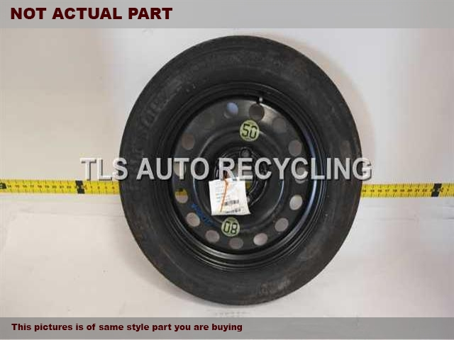 17X4 STEEL COMPACT SPARE WHEEL
