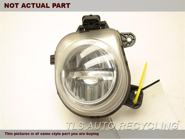 2016 BMW X5 Front Lamp. 63177317252RH,FOG-DRIVING, (BUMPER-MOUNTED)