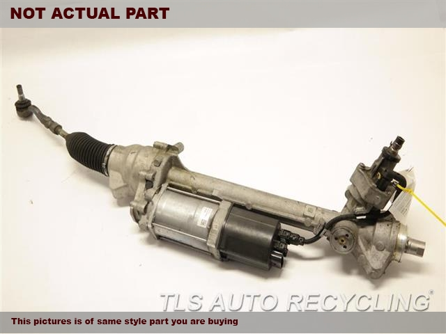 2012 BMW X3 Steering Gear Rack. POWER RACK AND PINION, (ELECTRIC),