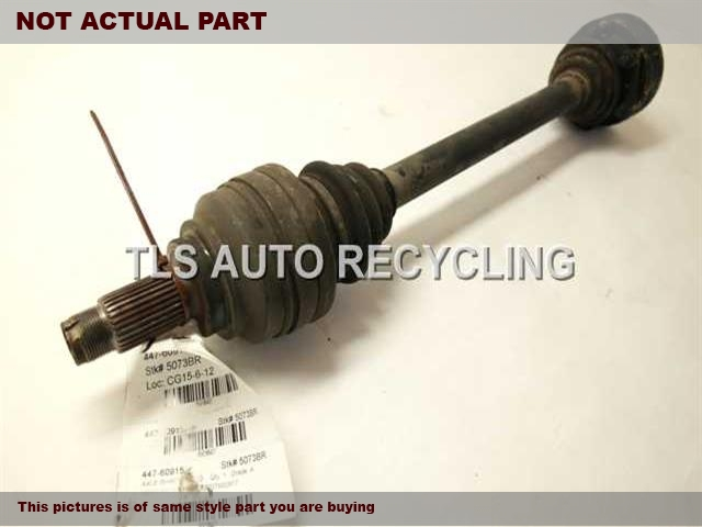 2005 BMW X5 Axle Shaft. REAR AXLE SHAFT 33207500917
