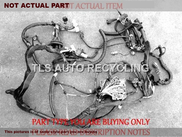2004 Bmw X5 Engine Wire Harness - 12517540449 - Used