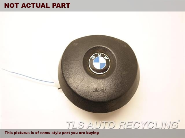 2005 BMW X5 Air Bag. 32306780661BLACK STEERING WHEEL AIR BAG