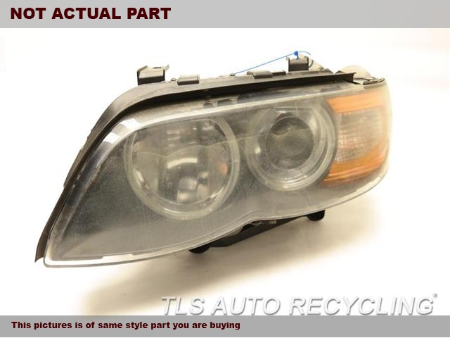 2005 BMW X5 Headlamp Assembly. 63117166811DRIVER HID HEADLAMP COMPLETE