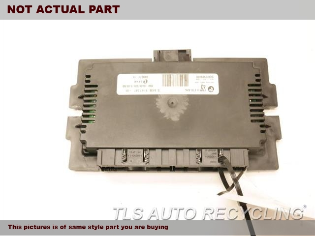 2009 BMW X6 Chassis Cont Mod. 61359176825 FOOTWELL CONTROL MODULE
