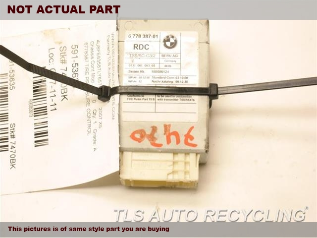 2007 BMW 328I Chassis Cont Mod. 36236785279 TIRE PRESSURE CONTROL