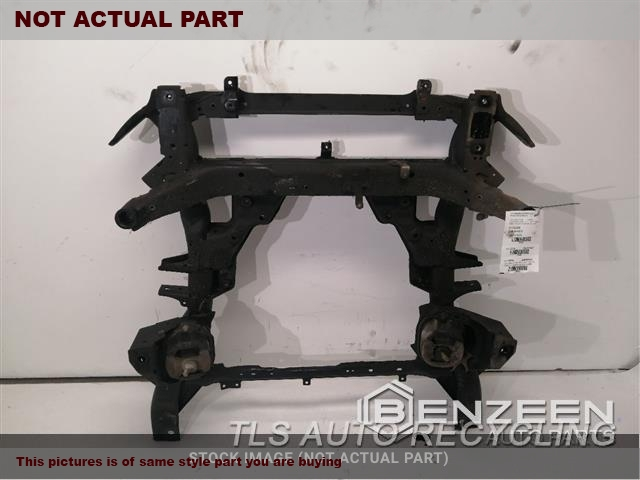 2013 BMW X5 Sub Frame. 3.0L,FRONT, SUSPENSION, W/O ACTIVE
