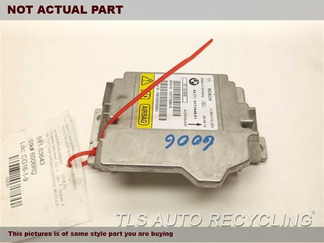 2009 BMW X6 Chassis Cont Mod. 65779189905 AIR BAG CONTROL