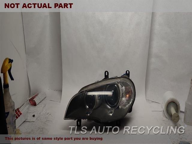 2013 BMW X5 Headlamp Assembly. PREVIOUS REPAIR EPOXY,NOT INSURANCE QUALITY!LH,(XENON, ADAPTIVE HEADLAMPS), L.