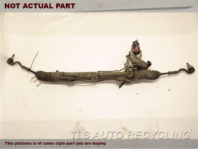 2011 BMW X6 Steering Gear Rack. POWER RACK AND PINION, BASE, ACTIVE