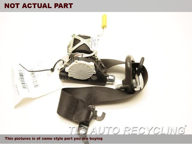 2011 BMW Z4 Seat Belt front. BLK,(BUCKET), PASSENGER, RETRACTOR