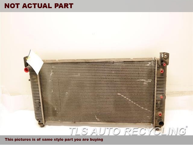 2009 Chevrolet SILVRDO15 Radiator. 5.3L, W/O ENHANCED COOLING
