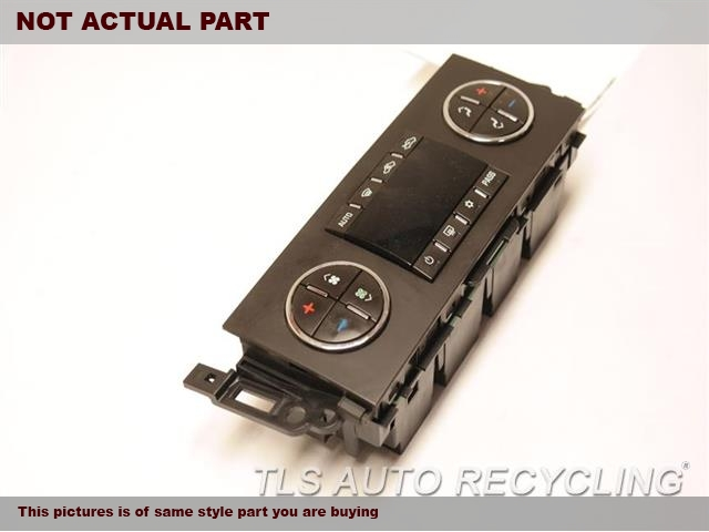 2009 Chevrolet SILVRDO15 Temp Control Unit. BUTTONS FADED AC, AUTOMATIC TEMPERATURE CONTROL