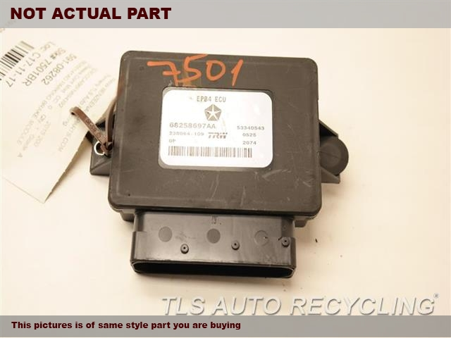 2015 Chrysler 200 Chassis Cont Mod. 68265141AD PARKING BRAKE MODULE