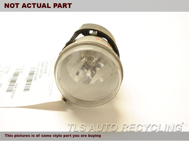 2015 JEEP GRANDCHER Front Lamp. FOG-DRIVING, (BUMPER MOUNTED), SUMM