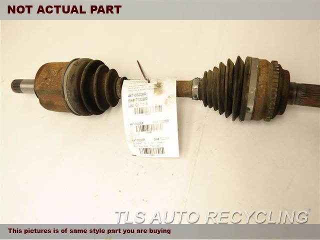 2011 Ford EDGE Axle Shaft. RH,3.5L,FRONT, R., OUTER ASSEMBLY,