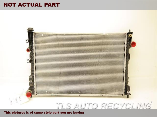 2010 Lincoln MKX Radiator. TOW PACKAGE