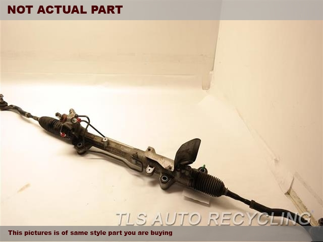 2011 Ford EDGE Steering Gear Rack. 3.5L,POWER RACK AND PINION, 17