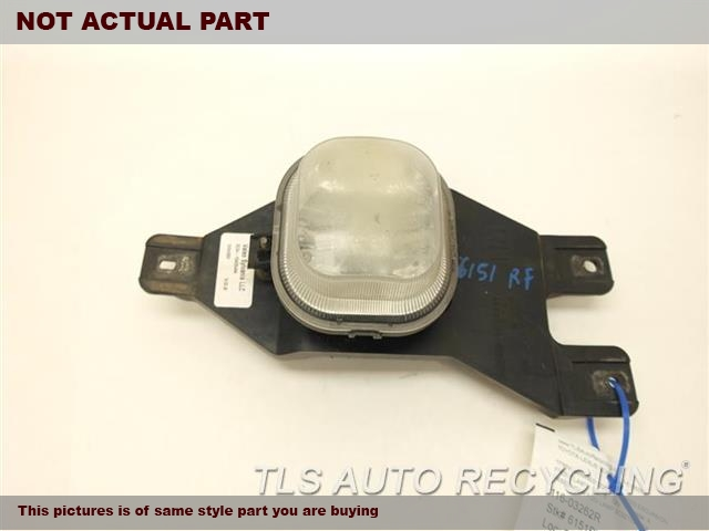 2004 Ford EXCURSION Front Lamp. PASSENGER FOG LAMP 3C3Z15200AA