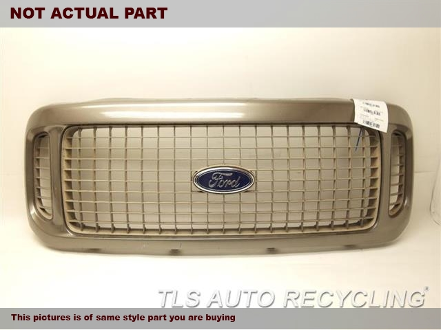2004 Ford EXCURSION Grille. TAN GRILLE 1C7Z8200BAD