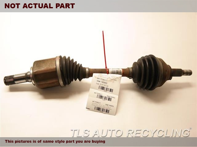 2017 Ford EXPLORER Axle Shaft. BB5Z3B436L  PASSENGER FRONT AXLE SHAFT