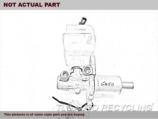 2014 Ford FUSION Brake Master Cylinder. 2.0L, VIN 9 (8TH DIGIT, TURBO)