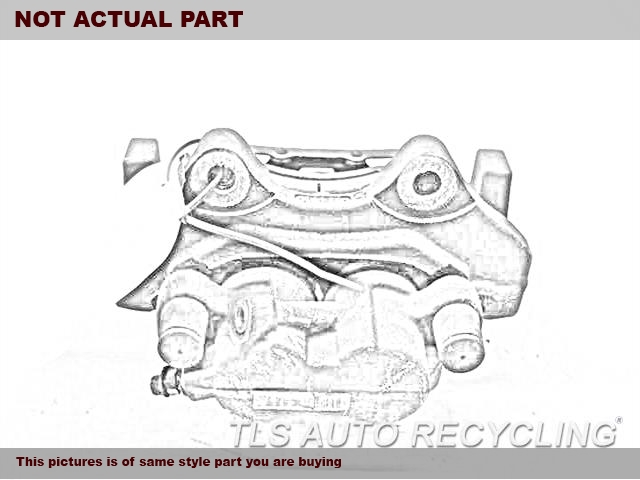 2014 Ford FUSION Caliper. LH,FRONT, L.