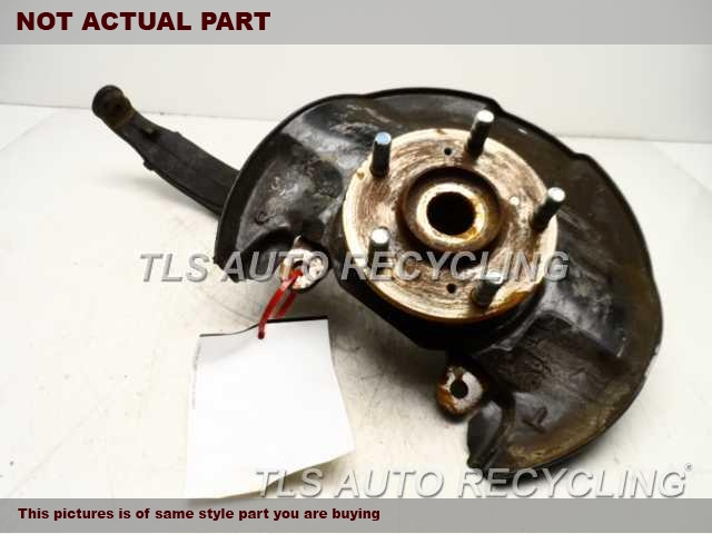2008 Honda Accord Spindle Knuckle, Fr. 51215TA0020  44600TA0A00  DRIVER FRONT KNUCKLE W/HUB
