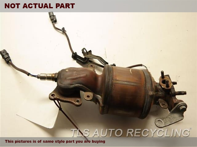 2012 Acura TL Exhaust Manifold. DRIVER SIDE FRONTEXHAUST MANIFOLD 18190-R70-A20