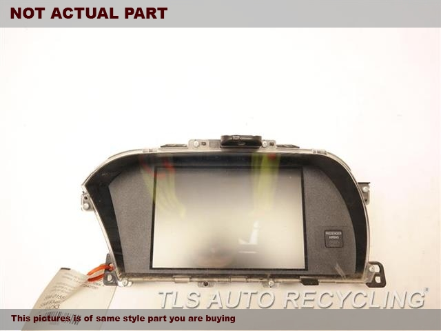 2015 Honda Accord Navigation GPS Screen. DISPLAY SCREEN, UPPER, US MARKET