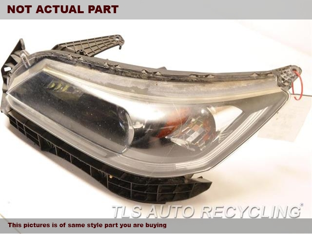 2015 Honda Accord Headlamp Assembly. LH,SDN, LX, L.