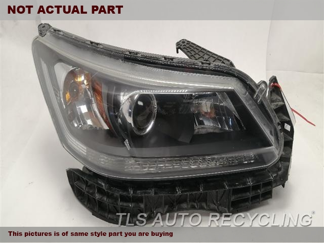 2015 Honda Accord Headlamp Assembly. RH,SDN, LX, R.