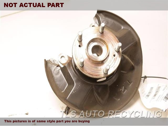 2016 Honda Accord Spindle Knuckle, Fr. LH,(ASSEMBLY), L.