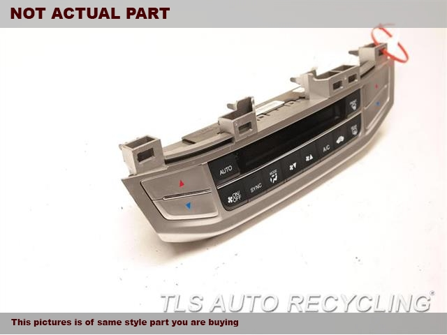2015 Honda Accord Temp Control Unit.  AUTOMATIC TEMPERATURE CONTROL