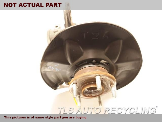 2014 Honda Accord Spindle Knuckle, Fr. LH,(ASSEMBLY), L.