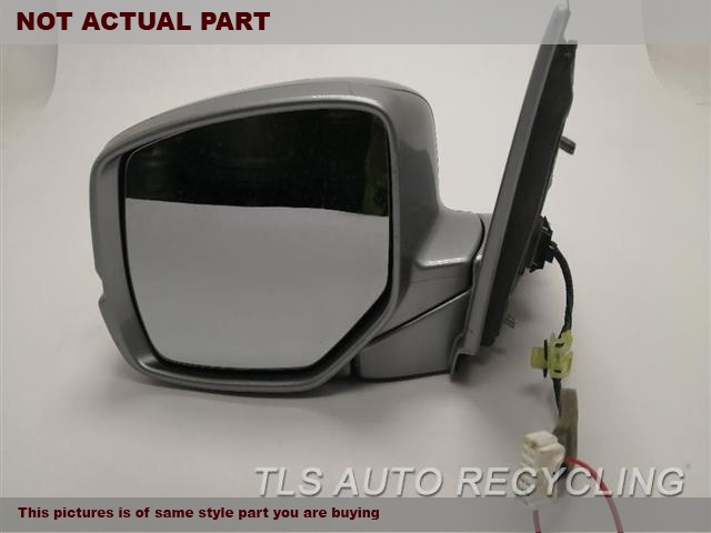2016 Honda Accord Side View Mirror. LH,BLK,PM,POWER, (BODY COLORED), SD