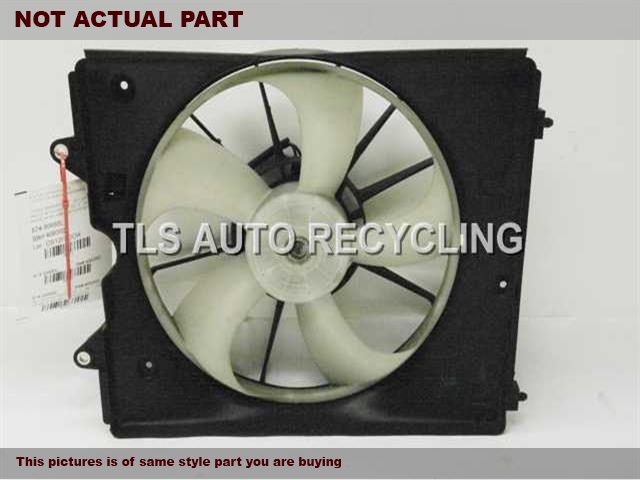 RADIATOR FAN ASSEMBLY 19015RV0A01