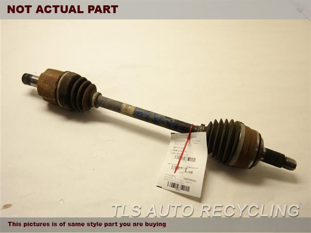 LH,FRONT AXLE, LX (5 SPEED), L.