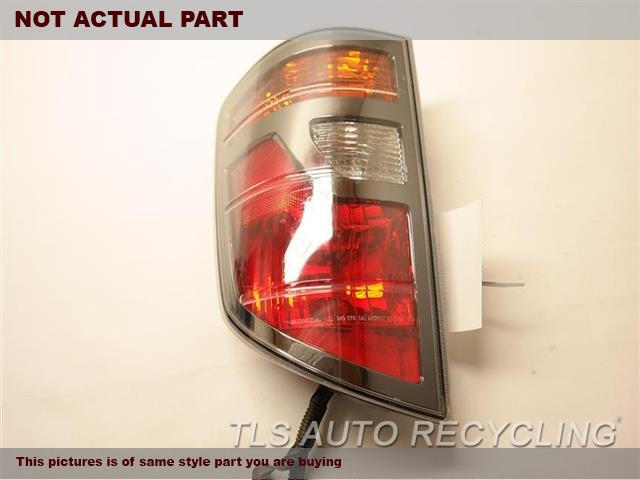 2007 Honda RIDGELINE Tail Lamp. AFTER MARKET DRIVER SIDE TAIL LAMP 33551-SJC-A01