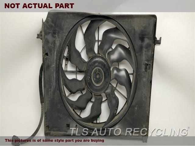 FAN ASSEMBLY, SDN, 5.0L