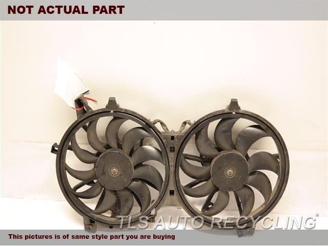 2007 Infiniti G35 Rad Cond Fan Assy. RADIATOR FAN ASSEMBLY 21481JK60B